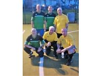 5-a-Side Football for over 55's.