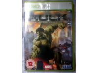 The Incredible Hulk Xbox 360 The Official Videogame - Complete and Great Condition