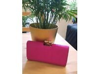 Ted Baker - One of a kind! Hot Pink Calf Hair Purse