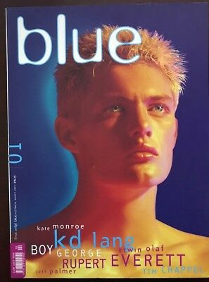 (not only) Blue Magazine #01, August 1995, As NEW, Not Pre-Owned, Early Issue !!