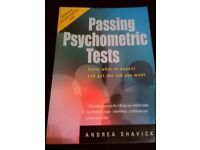 Passing Psychometric Tests Book by Andrea Shavick