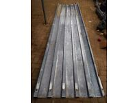 Used Corrugated Metal Sheets.