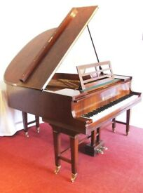 Franz Liehr baby grand piano, beautiful re-finished rosewood case