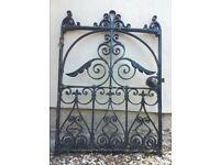 Collectable Victorian Cast Iron Gate for Entrance Garden Driveway