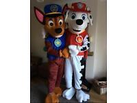 Paw Patrol Mascot Hire Telford West Midlands