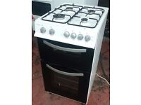 ROYALE RY50TGW GAS COOKER With Double Oven 50cm wide