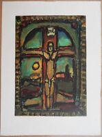 Georges Rouault : Crocifissione Legno Inciso Firmata ,raymond, Jacquet -  - ebay.it