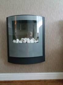 Wall mounted dimplex electric fire