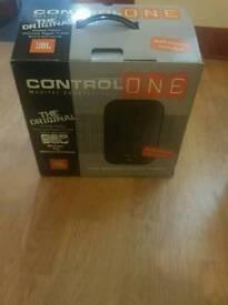 JBL Control 1 passive speakers