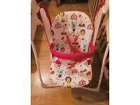Graco baby swinging chair