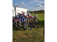 3 motor bike trailer road legal bikes off road bikes
