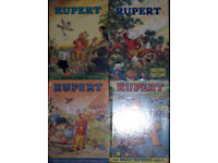 Four 1970s Rupert Annuals (1972/3/5/8) - Very Good Condition