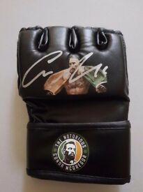 Signed Mcgregor glove