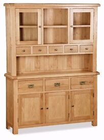 New Dressers Display cabinets from £99 to £999, Over 15 to choose from.