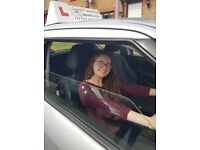 Driving lessons from professional female instructor