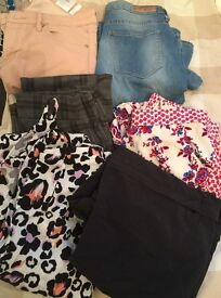 Selection of trousers and jumpsuits