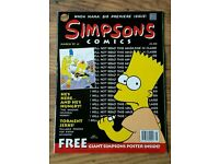 SIMPSONS COMICS DATING FROM 1997-2000