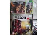 Limited Edition Gears of War 360 X Box