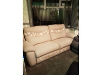 3 seater oversized sofa from SCS Casper Silver
