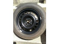 Genuine OE vauxhall Astra Corsa Spare Wheel 4 Stud Full Size Not Space Saver