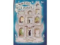 Angel Adoree vintage tea party book