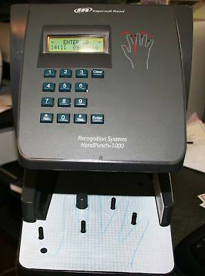 Handpunch 1000 Biometric Hand Punch Time Clock Hp-1000