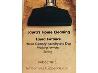 Laura's house cleaning