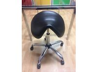 Saddle Stool - Adjustable Office Chair - perfect posture