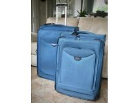 Cellini suitcases very high quality (matching pair)