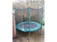 TP 8' TRAMPOLINE in good condition