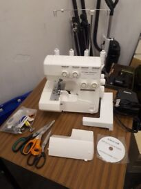 Frister and Rossman Sewing Machine, 550D Epochlock Overlocker, Almost New