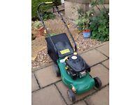 Petrol mower - B&Q TRY 3.5plma - 40cm rotary - had very little use