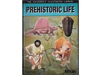 Prehistoric Life: The Illustrated Library books/book – from a smoke free home