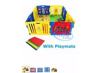 Play pen with playmats for Kids