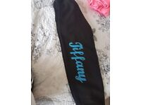 Joggers personalised with name tiffant 8-10yrs