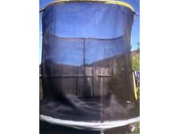 Good condition 10ft trampoline!!!! Quick sale due to moving home