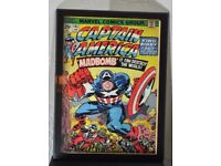 New Marvel Comics Captain America Madbomb! Poster Framed