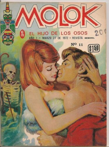 Molok #11 1972 Color Mexico Spanish Lang Mini-comics FINE