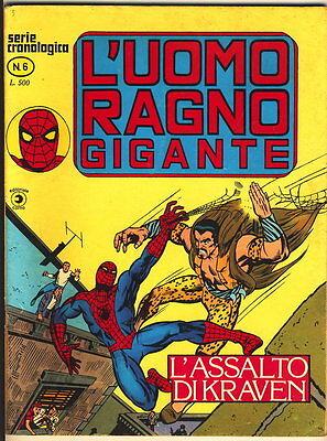 L'UOMO RAGNO GIGANTE 6 CORNO 1976 L'ASSALTO DI KRAVEN