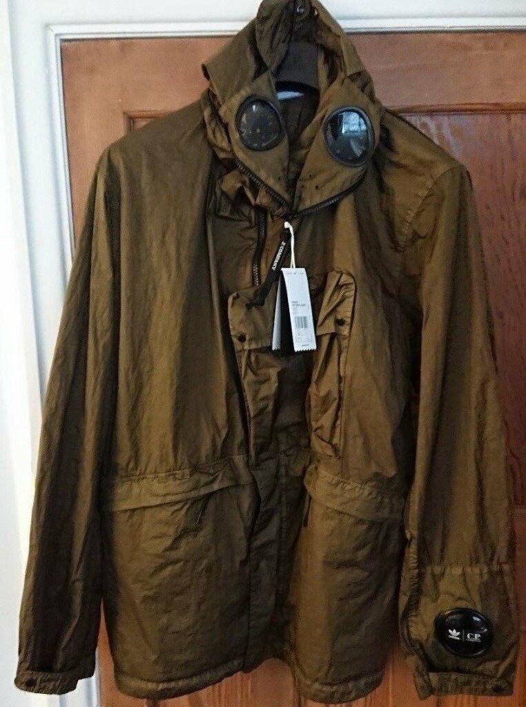 ADIDAS ORIGINALS x CP COMPANY Watchviewer Explorer Goggle Jacket Mille Miglia Size XL Ltd Edition   in Bradford, West Yorkshire   Gumtree