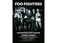 Foo fighters tickets x 4