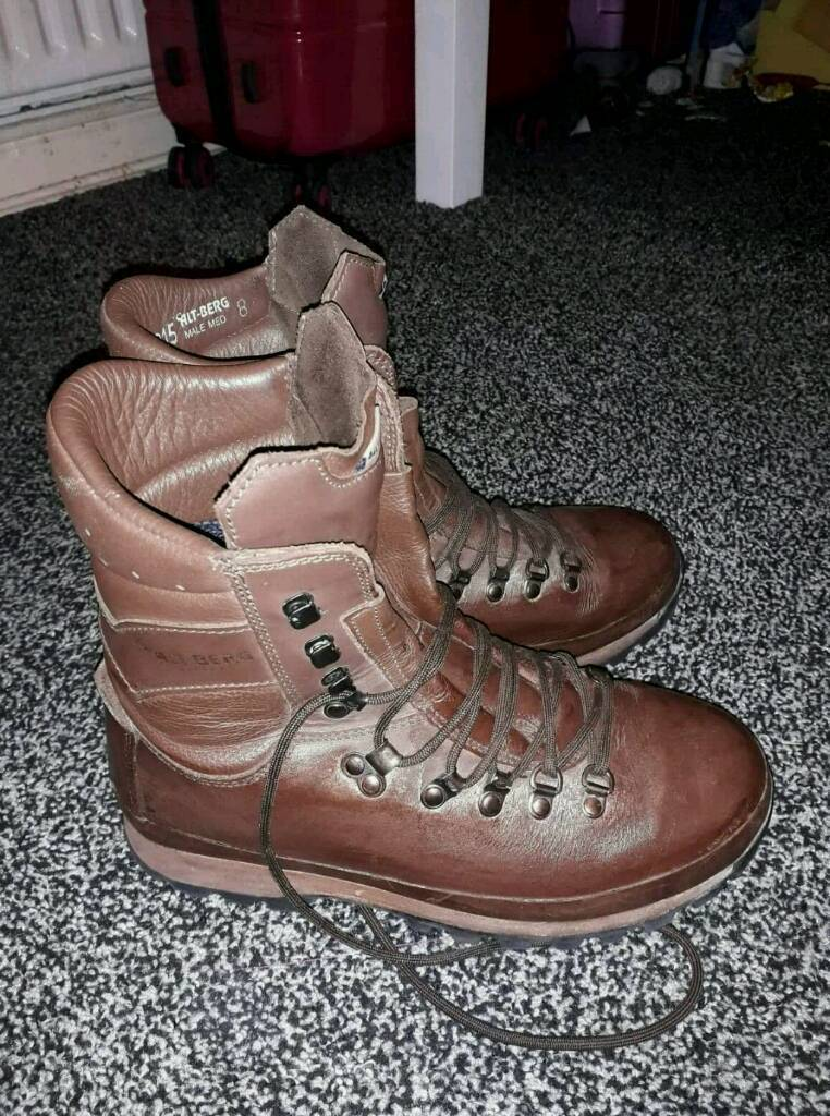a496336220d Altberg Warrior Brown Leather military Boots | in Grimsby, Lincolnshire |  Gumtree
