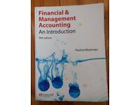 Financial Management Accounting; An Introduction; Fifth edition