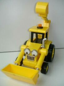 Bob The Builder Scoop Yellow Friction Powered Vehicle Toy Car