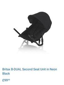 Britax second seat unit b-dual