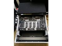 Denon DNX500 MIXER & DENON 4500MKII TWIN CD Player inc flightcase.