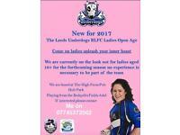 Ladies Rugby League