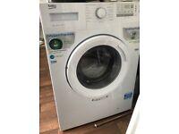 Beko washing machine white like new 8kg