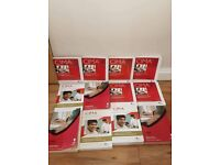 CIMA books x12 Stotfold smoke and pet free home. **** £10*** the lot. need gone