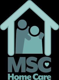 New opportunity for a experienced Care Worker to join MSC Homecare.